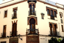 The Spanish school building in Sevilla
